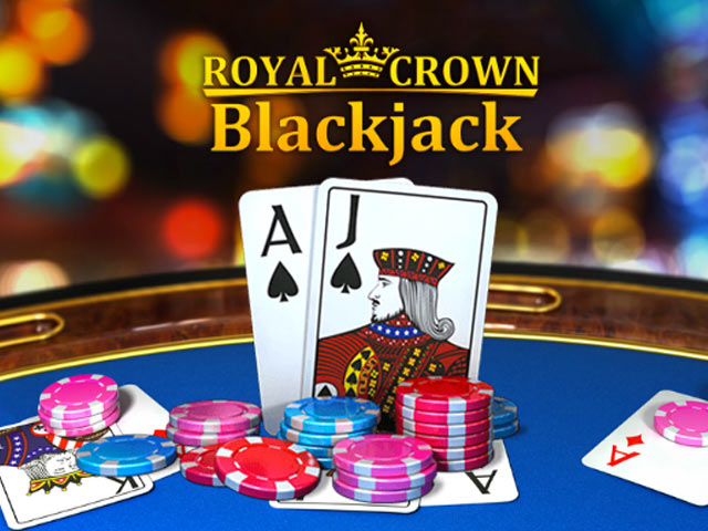 Card game Royal Crown Blackjack